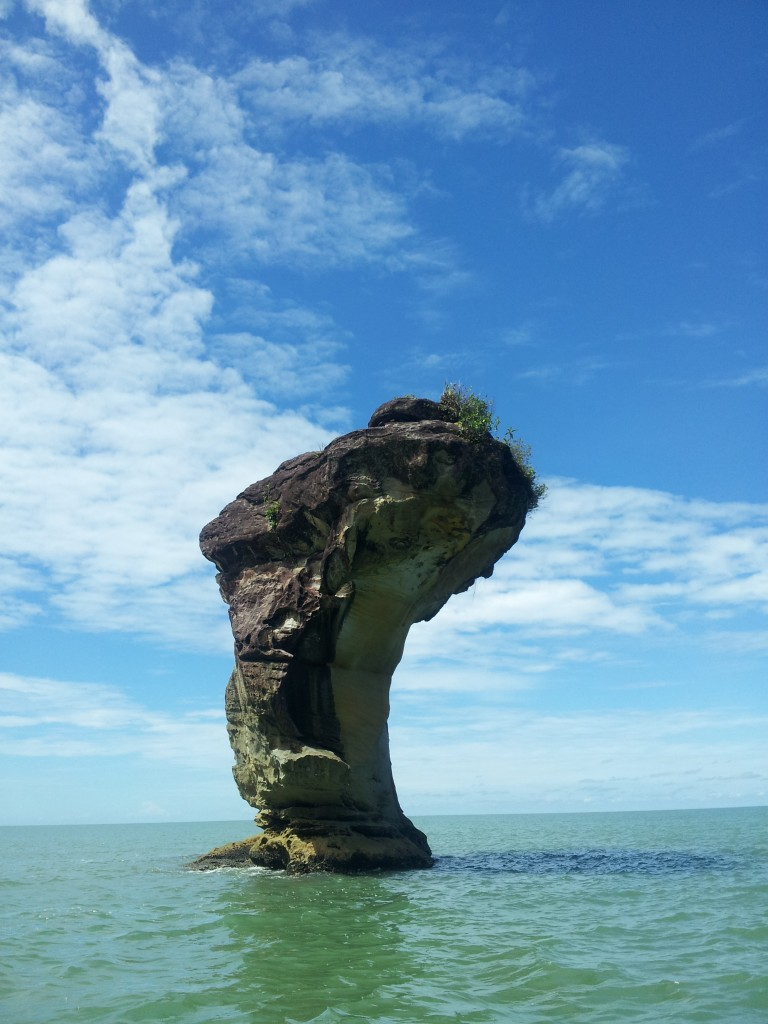 rock at bako